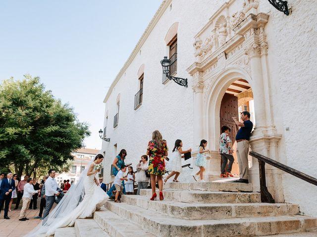 La boda de Josué y Miriam en Sax, Alicante 20