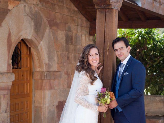 La boda de Raúl y Gema en Villasur De Herreros, Burgos 9