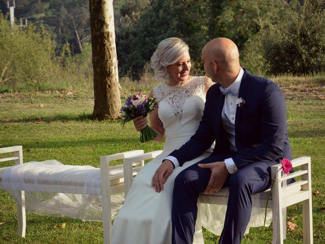 La boda de Cristian y Andrea en Sant Quirze Safaja, Barcelona 1