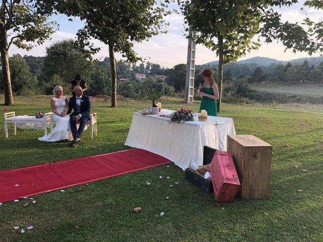 La boda de Cristian y Andrea en Sant Quirze Safaja, Barcelona 5