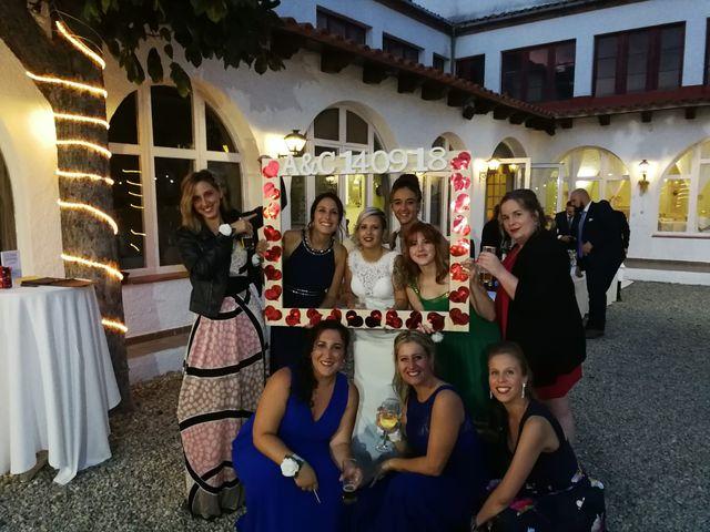 La boda de Cristian y Andrea en Sant Quirze Safaja, Barcelona 8