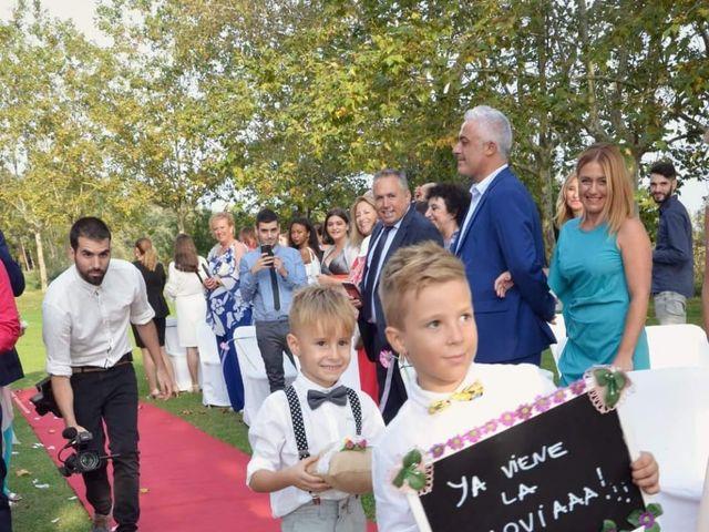 La boda de Cristian y Andrea en Sant Quirze Safaja, Barcelona 11