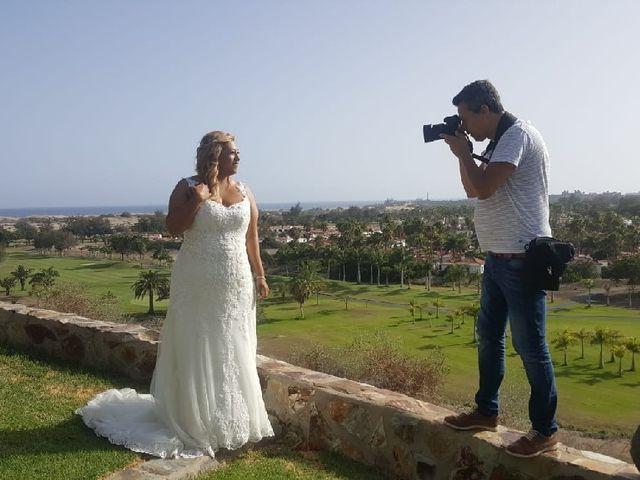 La boda de Juan Antonio  y Begoña  en Santa Lucia, Las Palmas 1