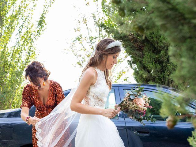 La boda de David y Marina en Alfajarin, Zaragoza 1