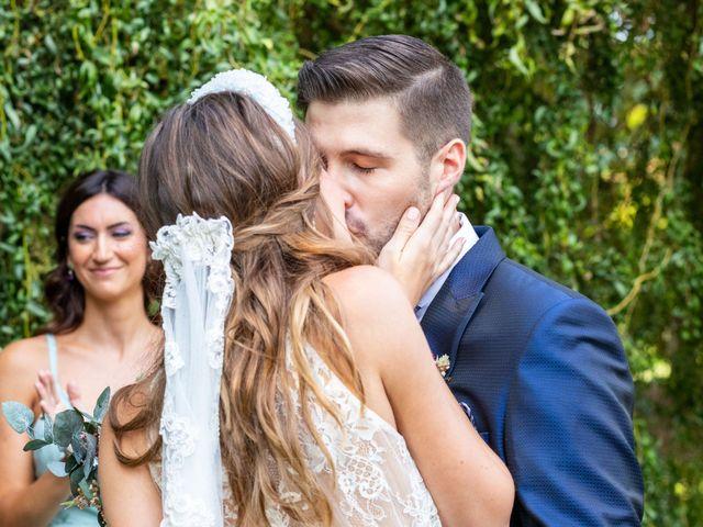 La boda de David y Marina en Alfajarin, Zaragoza 17