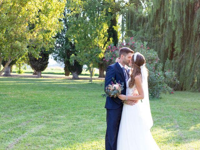 La boda de David y Marina en Alfajarin, Zaragoza 20