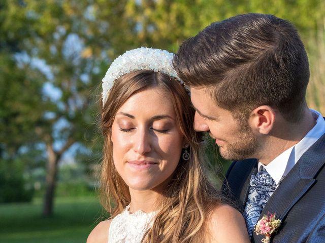 La boda de David y Marina en Alfajarin, Zaragoza 21