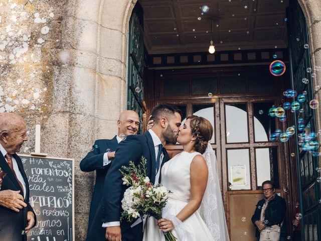 La boda de Héctor y Alejandra en Moraña, Pontevedra 45