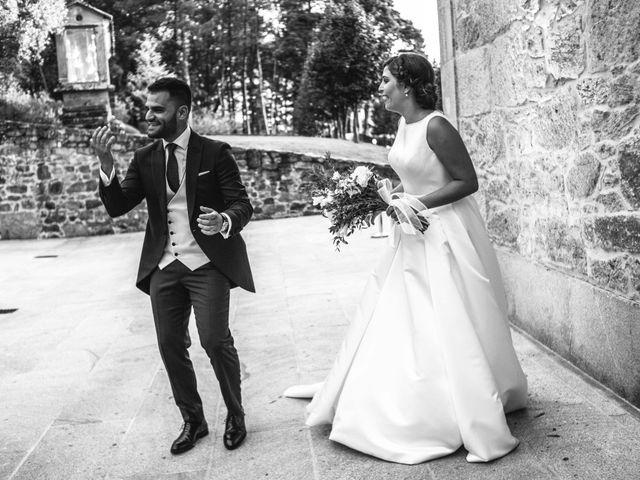 La boda de Héctor y Alejandra en Moraña, Pontevedra 63