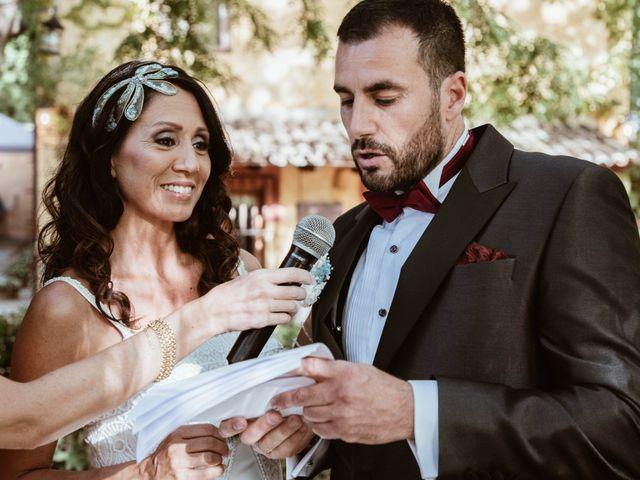 La boda de Carlos y Diana en Chinchon, Madrid 27