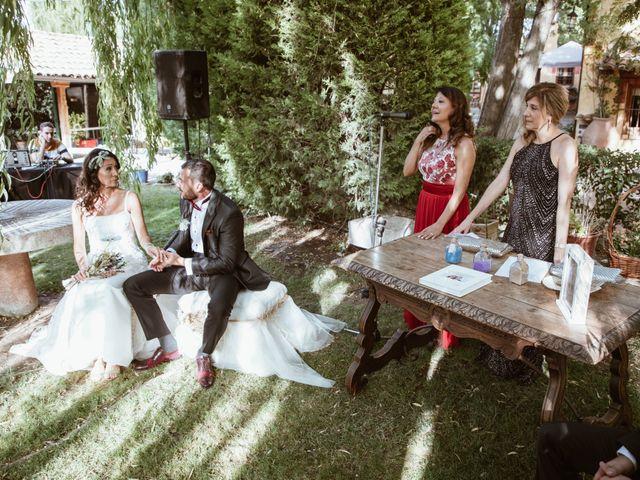 La boda de Carlos y Diana en Chinchon, Madrid 28