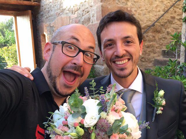 La boda de Andrea y Jonathan en Castelladral, Barcelona 2