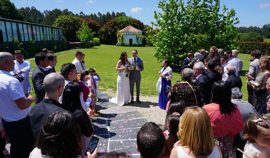 La boda de Luis y Nuria en Casas Novas (Oza Dos Rios), A Coruña