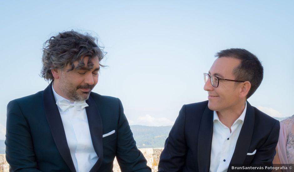 La boda de Jose y David en Baiona, Pontevedra