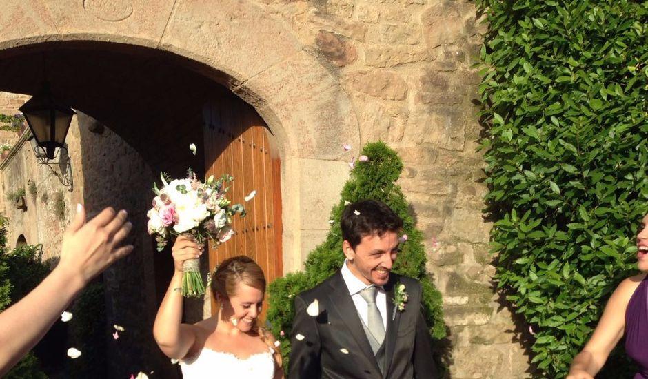 La boda de Andrea y Jonathan en Castelladral, Barcelona