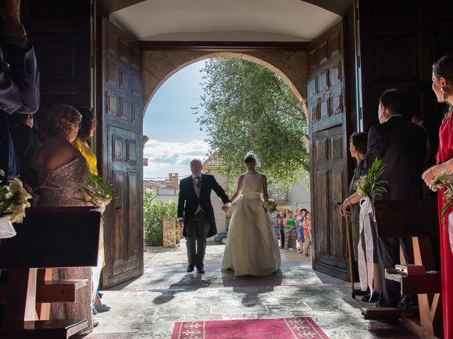 La boda de Germán y Ana en La Alberca De Zancara, Cuenca 1
