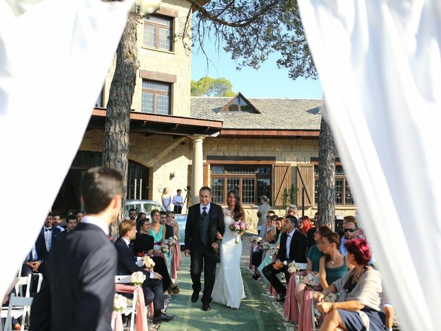 La boda de Verónica  y Javier en Castellar Del Valles, Barcelona 24