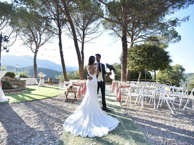 La boda de Verónica  y Javier en Castellar Del Valles, Barcelona 41