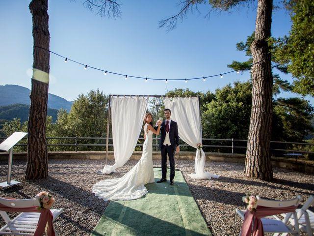 La boda de Verónica  y Javier en Castellar Del Valles, Barcelona 44