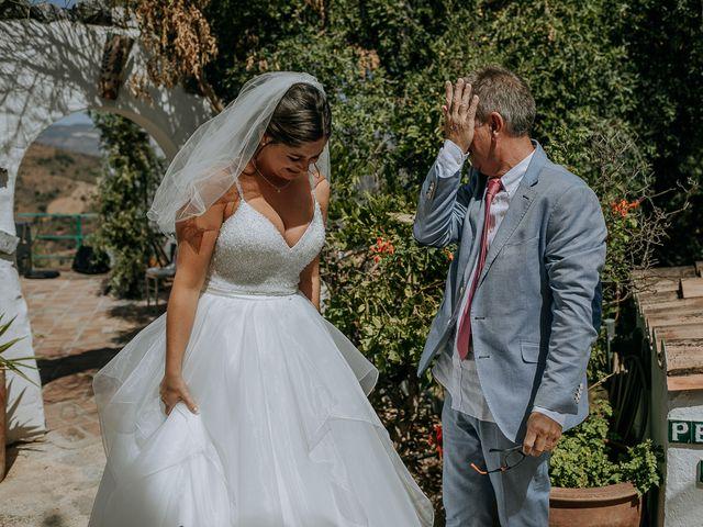 La boda de Lewis y Jenny en Guaro (Coin), Málaga 63