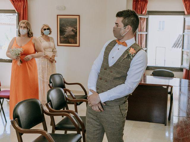 La boda de Lewis y Jenny en Guaro (Coin), Málaga 71