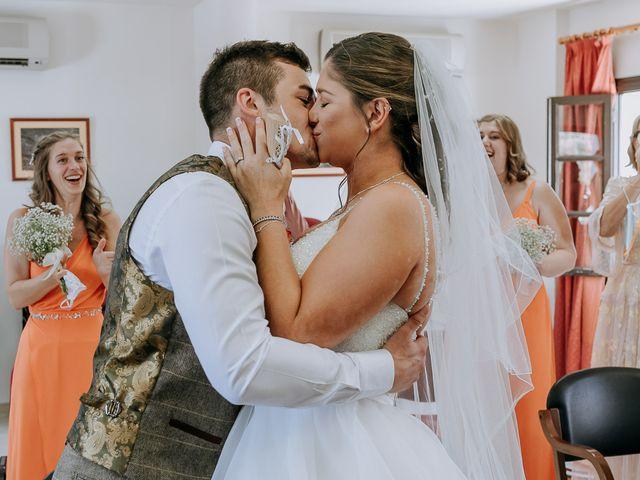 La boda de Lewis y Jenny en Guaro (Coin), Málaga 76