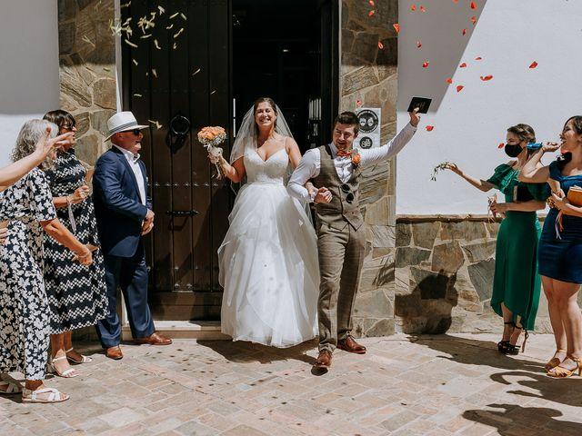 La boda de Lewis y Jenny en Guaro (Coin), Málaga 79