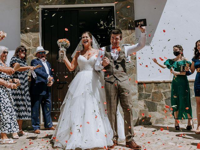 La boda de Lewis y Jenny en Guaro (Coin), Málaga 80