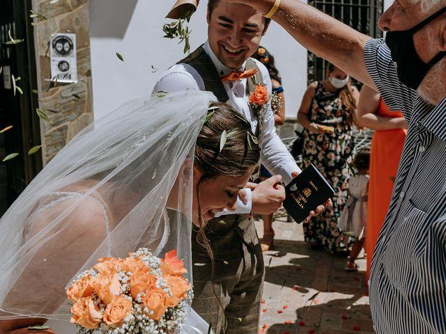 La boda de Lewis y Jenny en Guaro (Coin), Málaga 81