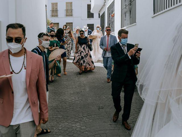 La boda de Lewis y Jenny en Guaro (Coin), Málaga 83