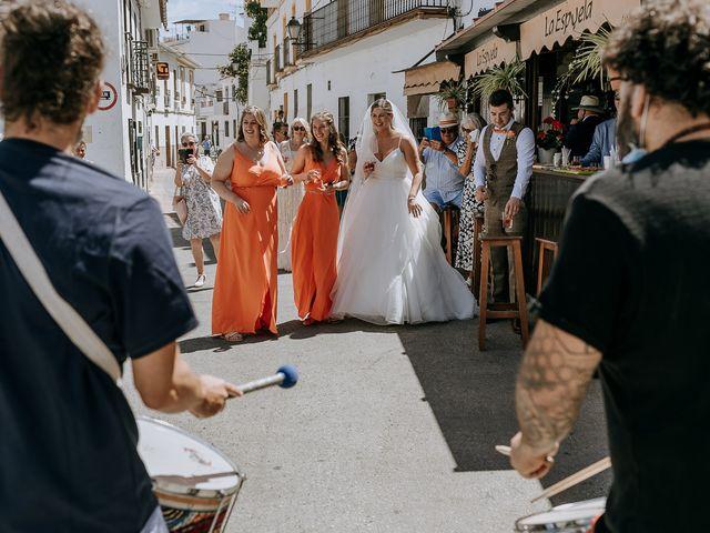 La boda de Lewis y Jenny en Guaro (Coin), Málaga 95