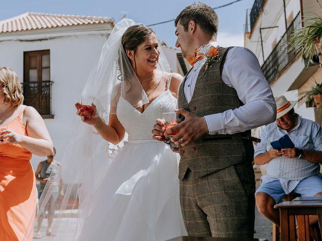 La boda de Lewis y Jenny en Guaro (Coin), Málaga 96