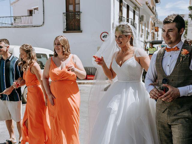 La boda de Lewis y Jenny en Guaro (Coin), Málaga 98