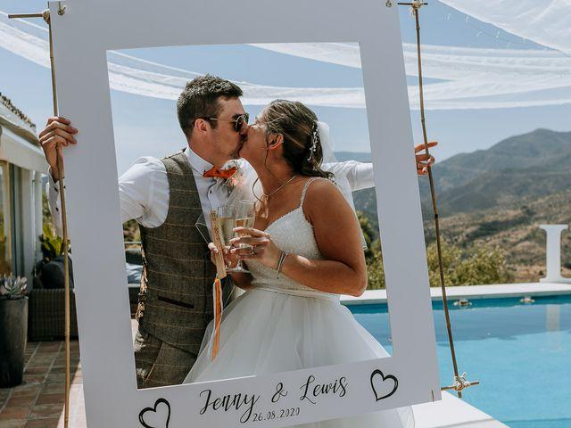 La boda de Lewis y Jenny en Guaro (Coin), Málaga 107
