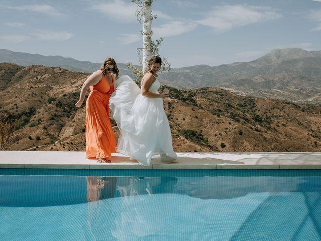 La boda de Lewis y Jenny en Guaro (Coin), Málaga 111