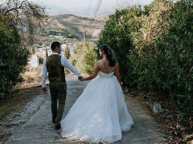 La boda de Lewis y Jenny en Guaro (Coin), Málaga 131