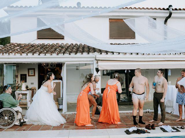 La boda de Lewis y Jenny en Guaro (Coin), Málaga 144