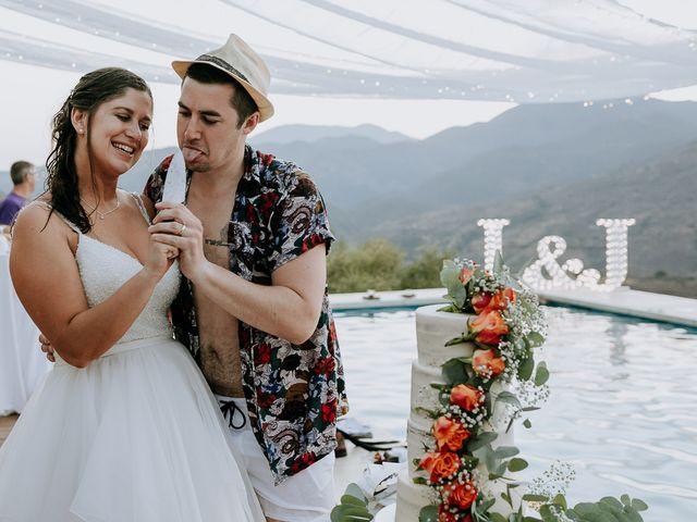 La boda de Lewis y Jenny en Guaro (Coin), Málaga 148