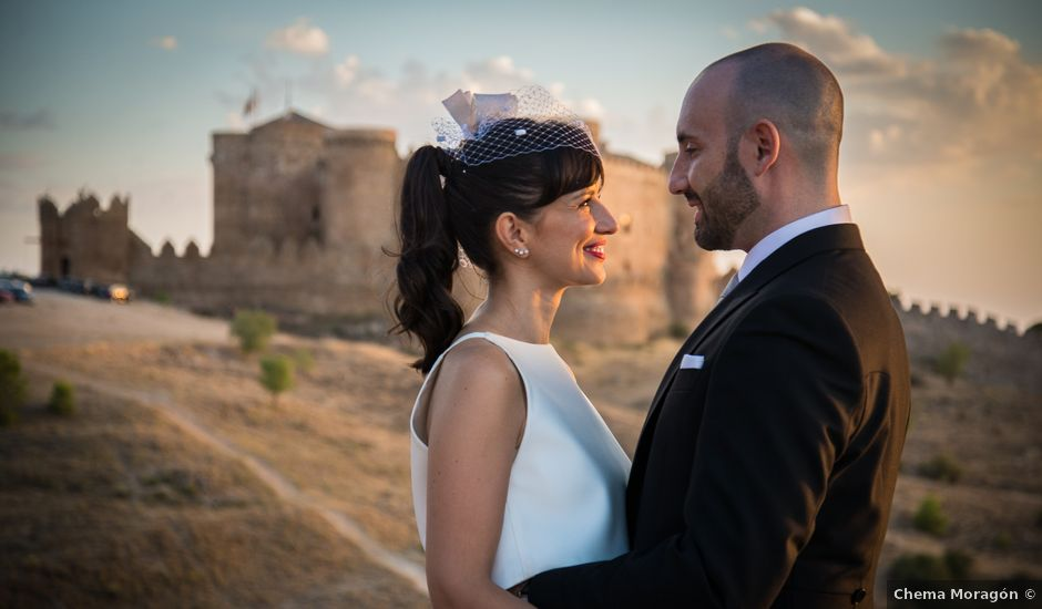 La boda de Germán y Ana en La Alberca De Zancara, Cuenca