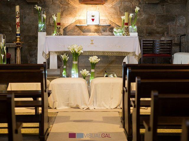 La boda de Diego y Soraya en O Grove (Resto Parroquia), Pontevedra 8