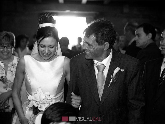 La boda de Diego y Soraya en O Grove (Resto Parroquia), Pontevedra 10
