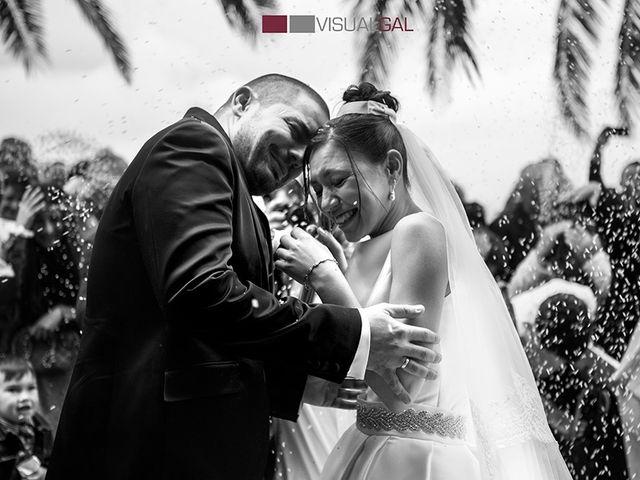 La boda de Diego y Soraya en O Grove (Resto Parroquia), Pontevedra 11