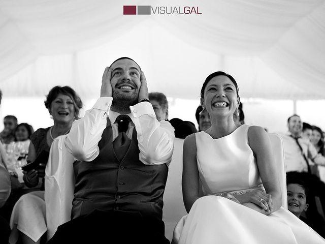 La boda de Diego y Soraya en O Grove (Resto Parroquia), Pontevedra 15
