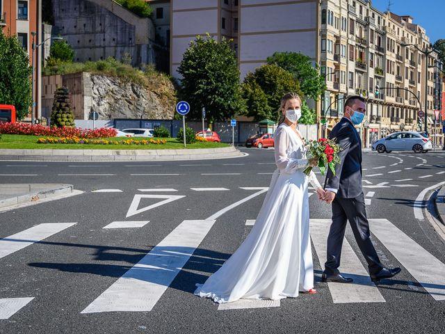 La boda de Alexander  y Miriam en Bilbao, Vizcaya 2