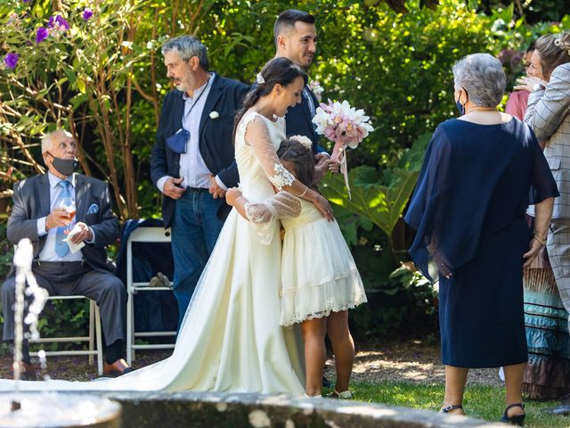 La boda de Diego y Cristina en Abegondo, A Coruña 42