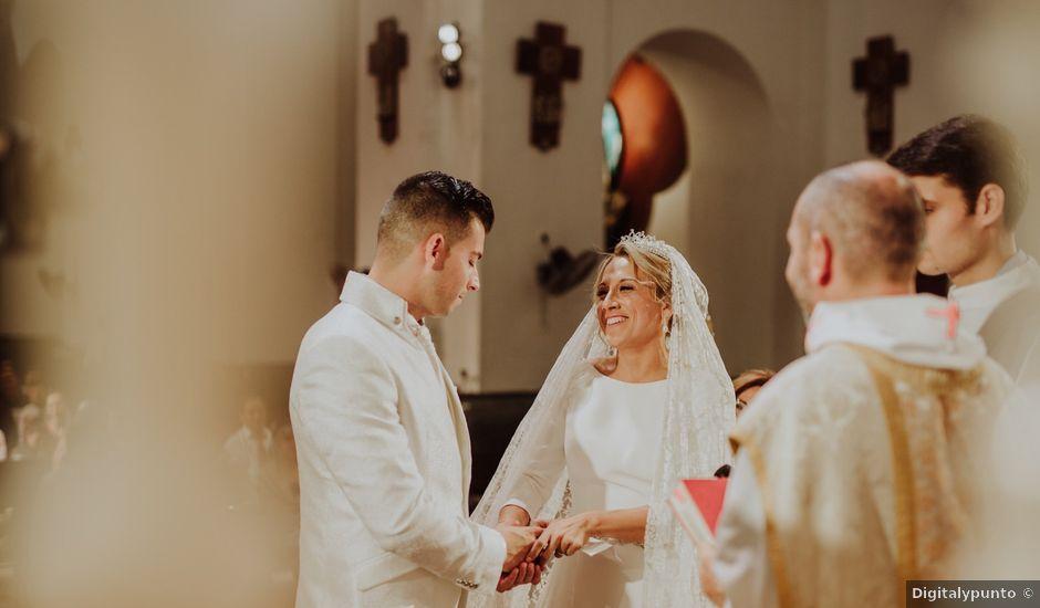 La boda de Kike y Rocío en Cartagena, Murcia