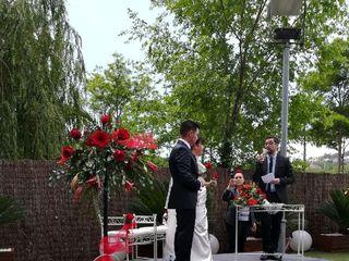 La boda de Azahara  y Tony 2