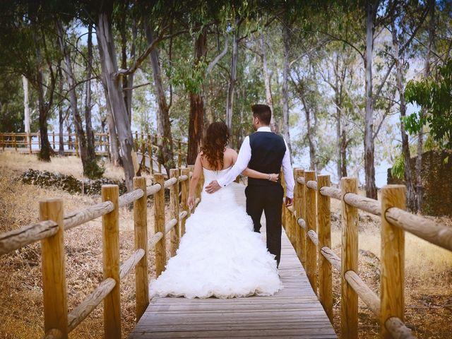 La boda de Fran y Virginia en Plasencia, Cáceres 43