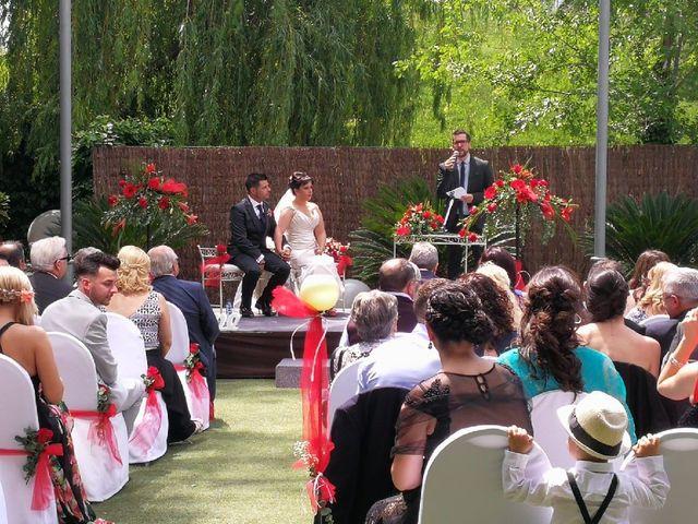 La boda de Azahara  y Tony