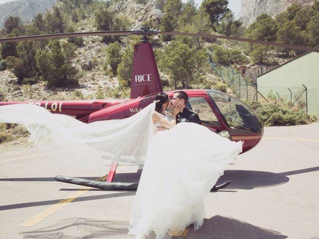 La boda de Alberto y Jessica en Polop, Alicante 5